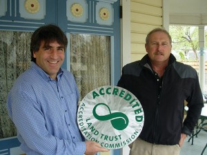 Rob Bleiberg, Executive Director and Chris Muhr, Board Member