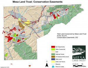 Conservation Easement Map
