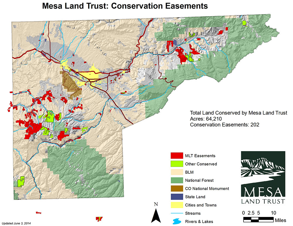Conservation Easement Map