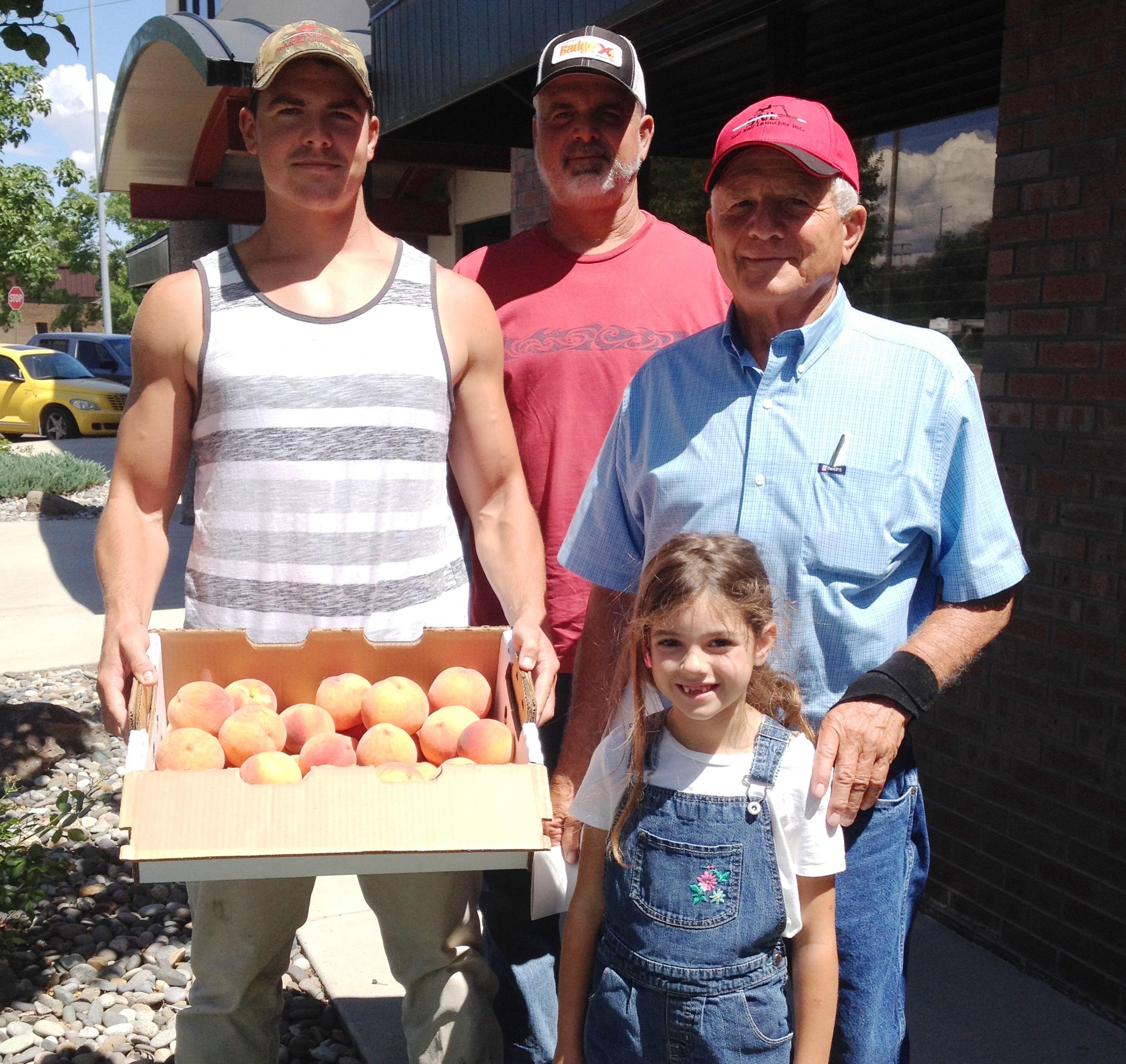 ruckman, peach farm